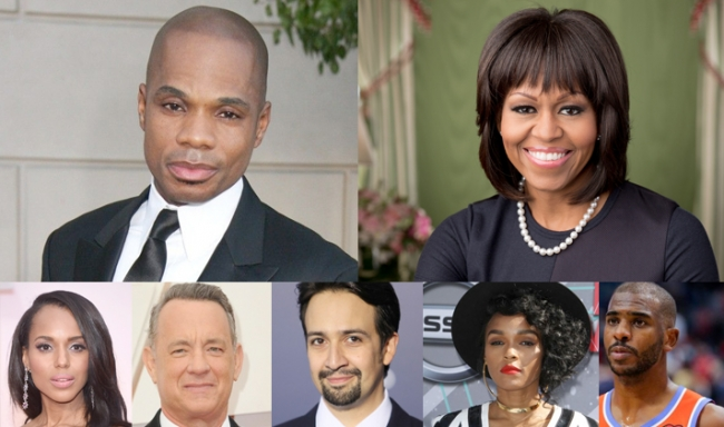 Kirk Franklin et Michelle Obama